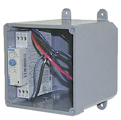 maximum run timer for bin fans and feedline applications