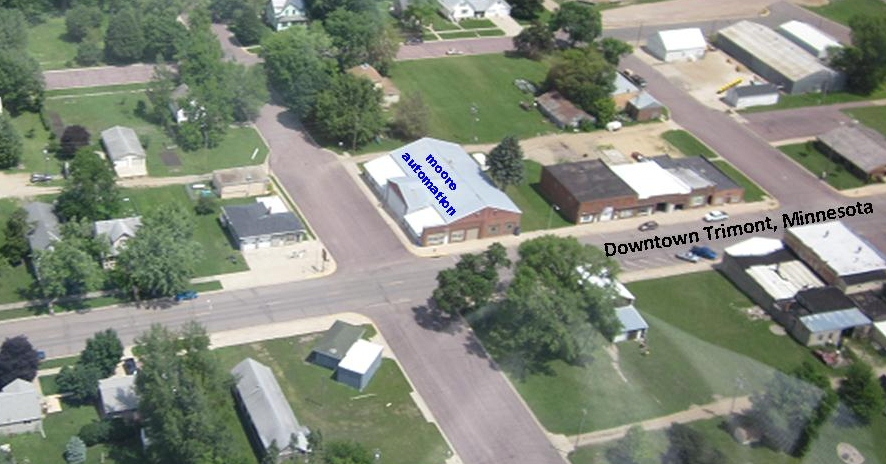 Find us Downtown Trimont, MN
