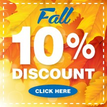 Fall Discount - 10%