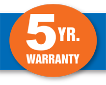 Moore 5 year warranty