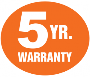Moore 5 year warranty logo