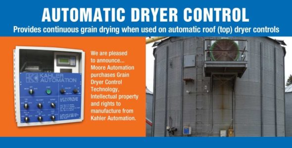 Automatic Dryer Controls for Top Dryer