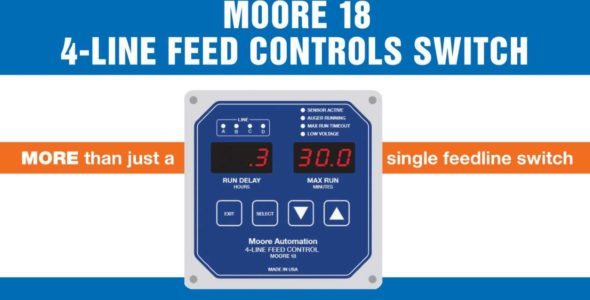 Moore 18 4 Line Feed Controls