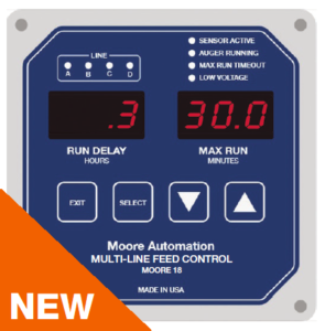 Moore 18 Multi-Line Feed Controller NEW